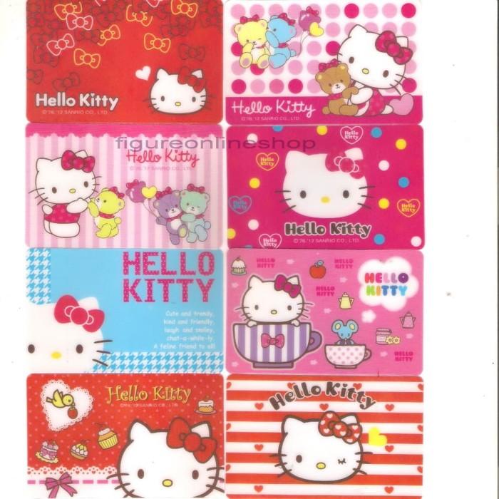 harga Stiker kartu magnetic / kartu atm hello kitty isi 8 (made in korea) Tokopedia.com