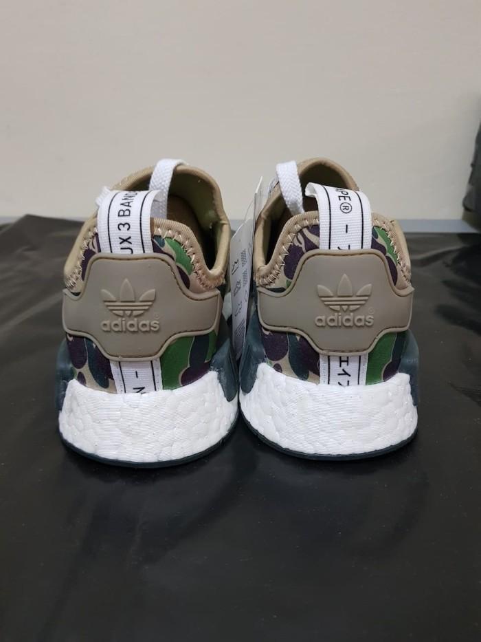 e4cb33c306e3e Jual (Size 36) BAPE x adidas NMD R1 Green Camo - UA Quality - Kota ...