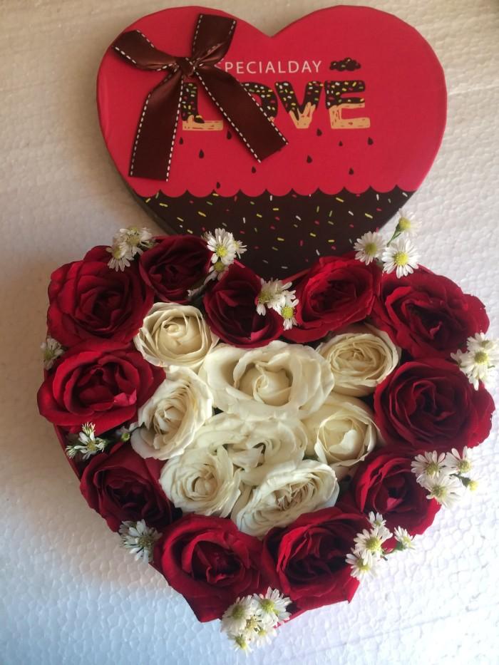 Jual Bunga Mawar Love Mawar Bentuk Hati Jakarta Timur Toko