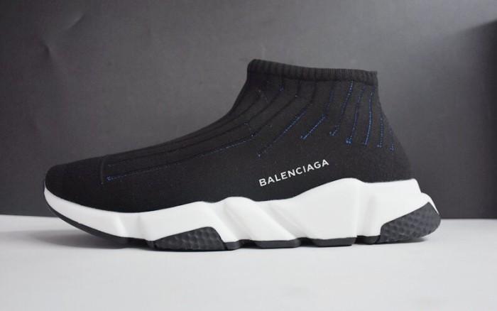 Jual Sepatu Pria - Balenciaga Low Speed Trainer Black White Black ... 82c107e95e
