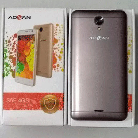 Jual HP Android Advan S5E 4G New 2017