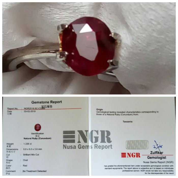 harga Rare. natural ruby no heat #ada batu merah delima star red birma burma Tokopedia.com