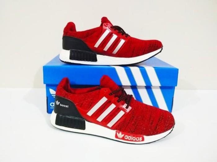 harga Sepatu cewek running / casual adidas ultraboost camo (red) termurah!! Tokopedia.com
