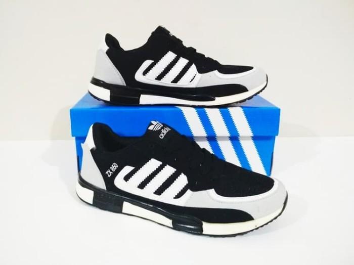 ce727779f3dc ... where can i buy sepatu cowok running casual adidas zx 850 black grey  termurah 99bef 09915