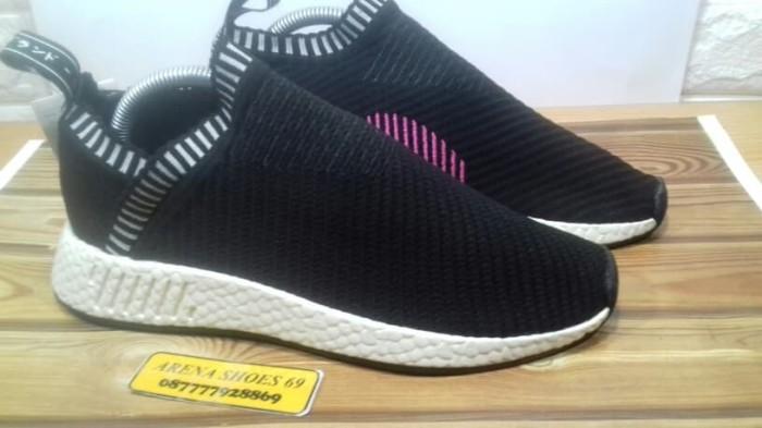 0b213051e404f Jual Adidas Nmd CS2 PK Core Black Pink - Premium Quality - Arena ...