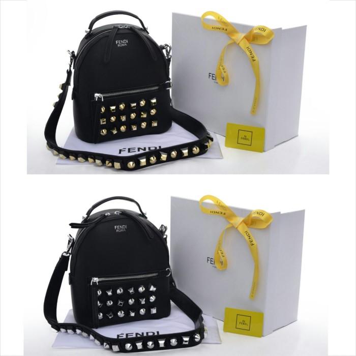 Jual Tas Fendi Backpack Crossbody Varian Studded Seprem Box 2018 ... 3176161b6b