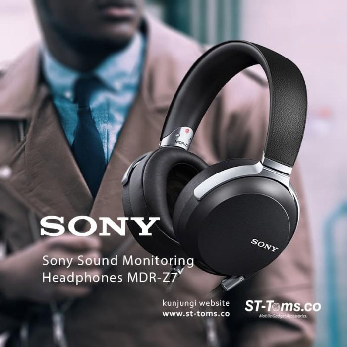 harga Sony sound monitoring headphones mdr-z7 Tokopedia.com