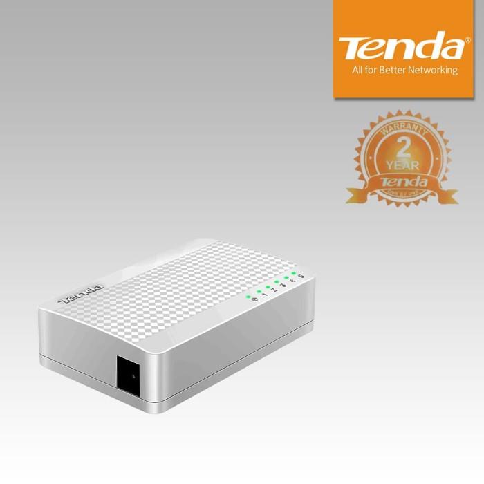 Tenda s105 5-port ethernet switch plug & play