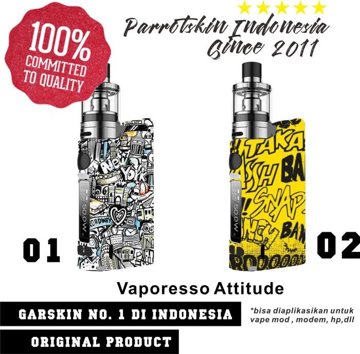 harga Garskin skin vaporesso attitude typo art bisa custom gambar Tokopedia.com