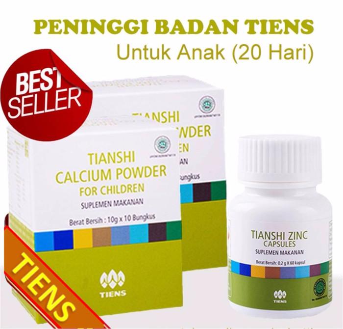 Foto Produk PRODUK LARIS Peninggi Badan Anak Tiens NHCP Children Zinc paket 20 har dari tiens-herbal01