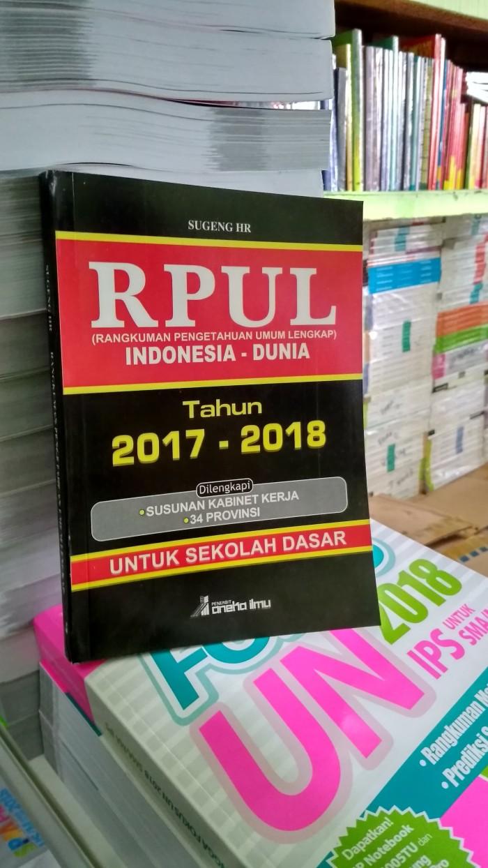 Jual BEST SELLER RPUL INDONESIA DUNIA TAHUN 2017 2018 UNTUK SD Jakarta Pusat Toko Buku Mata Air
