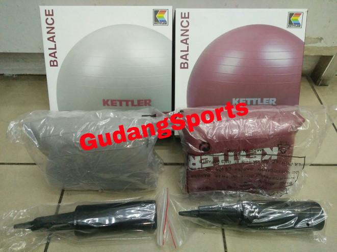 harga Kettler gym ball 75cm Tokopedia.com