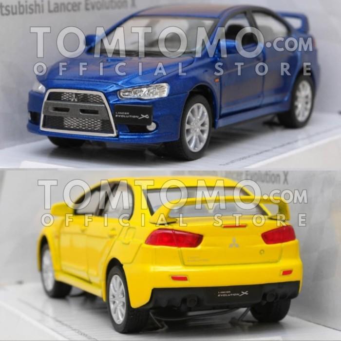 harga Mitsubishi lancer evo x mobil mobilan diecast miniatur mainan cowok Tokopedia.com