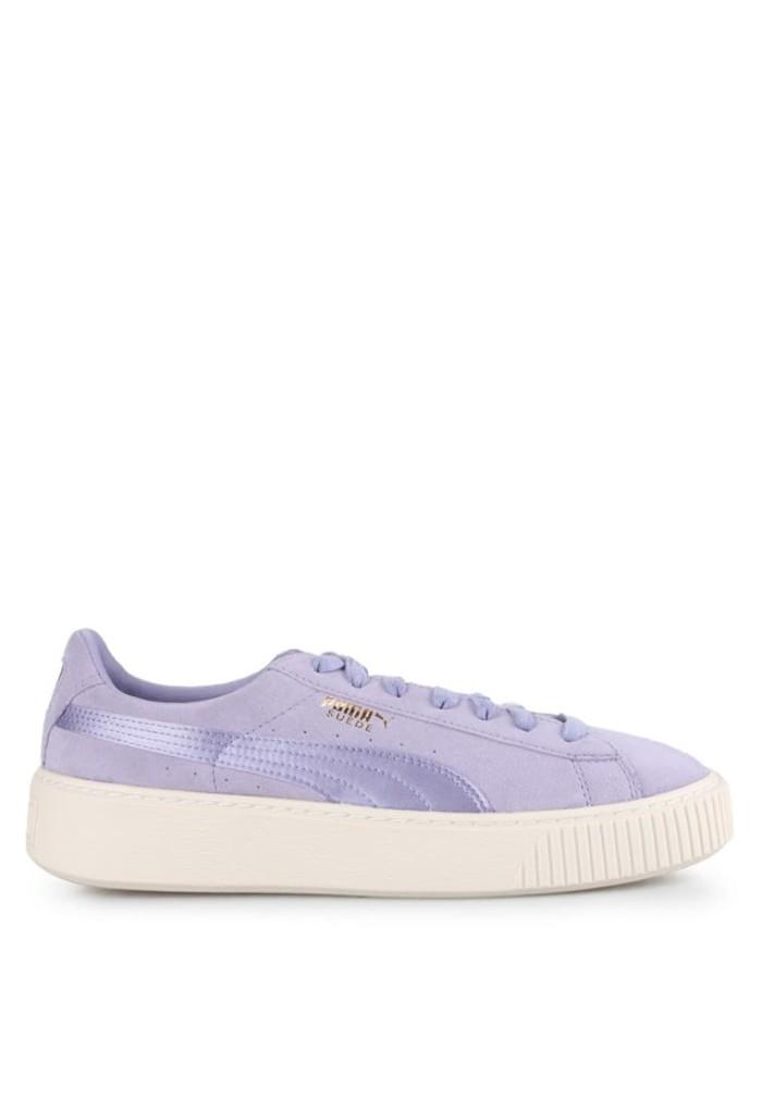 sale retailer c43b7 49cdd Jual Sepatu Puma Suede Platform Mono Satin Original - Purple - Kota Depok -  IYF Store   Tokopedia