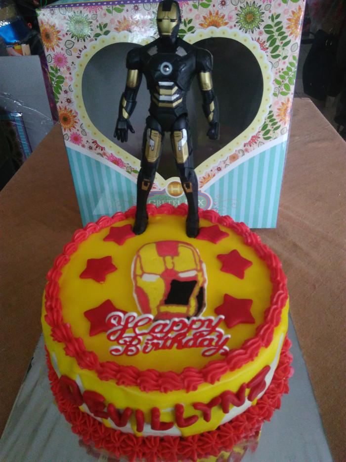 harga Cake karakter ironman cibubur Tokopedia.com
