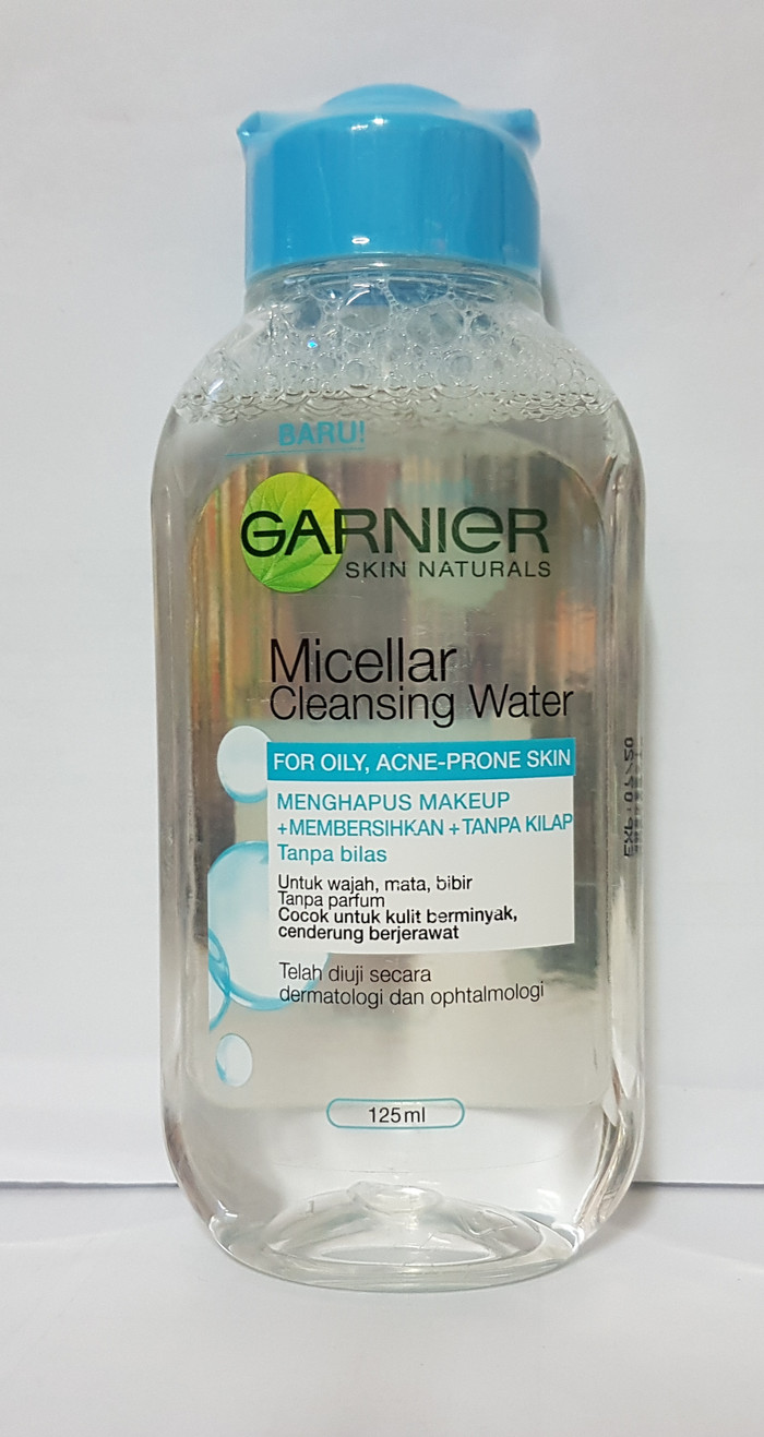 Jual Garnier Micellar Cleansing Water For Oily Skin 125 Ml Toko 125ml