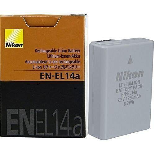 harga Battrey nikon en-el14a for df d3100 d3200 d3300 d5100 d5200 Tokopedia.com
