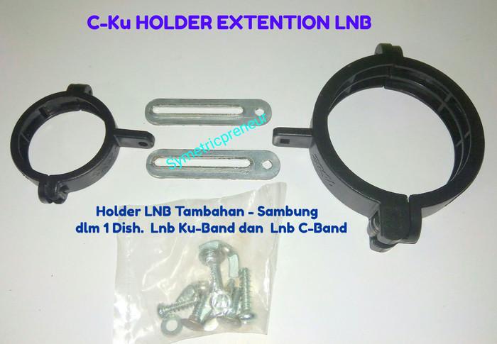 harga Bracket holder extention combo lnb c -  ku band Tokopedia.com