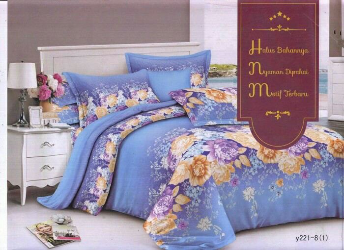harga Sprei katun khansa uk.180x200cm king b2 motif dewasa Tokopedia.com