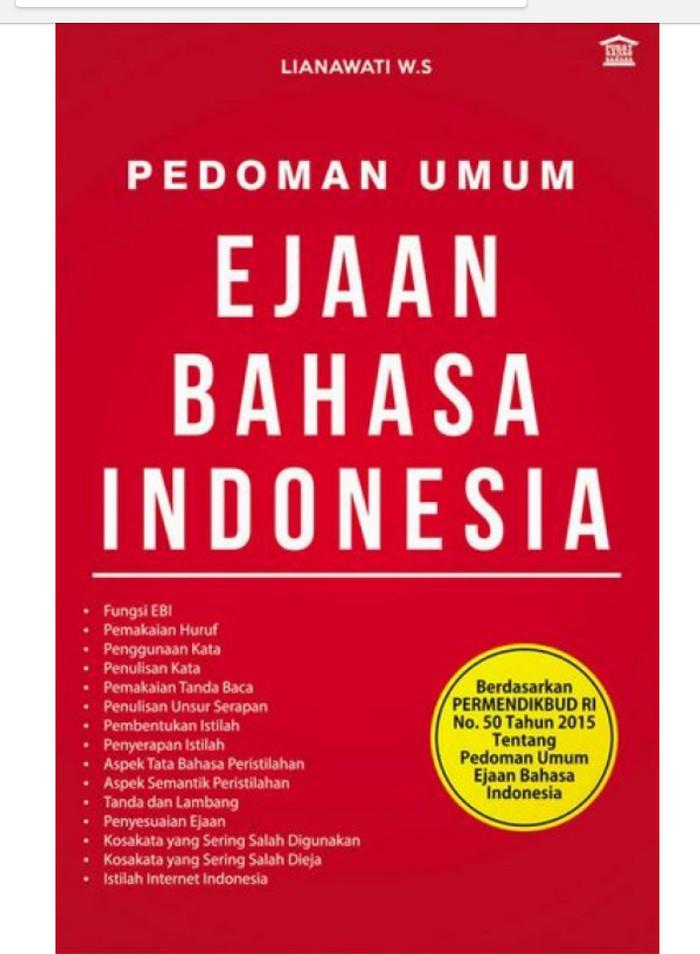 harga Buku pedoman umum ejaan bahasa indonesia original Tokopedia.com