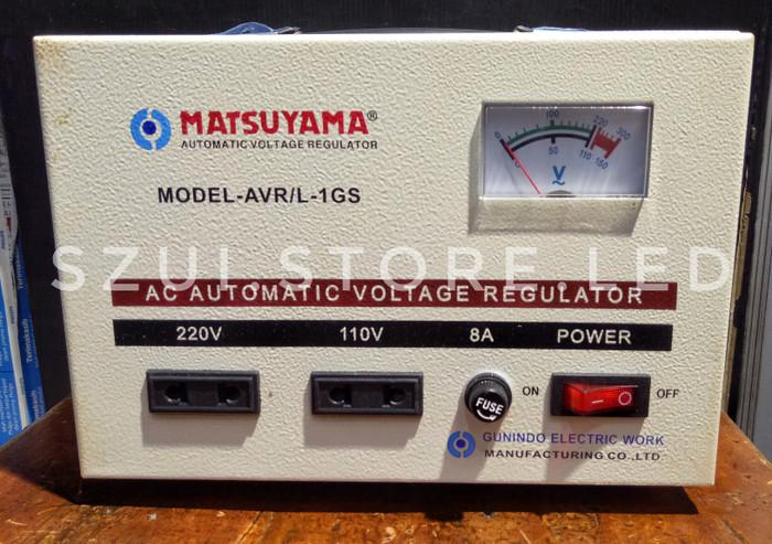 harga Stavol matsuyama 1000 va 1 phase avr / stabilizer tegangan / stavolt Tokopedia.com