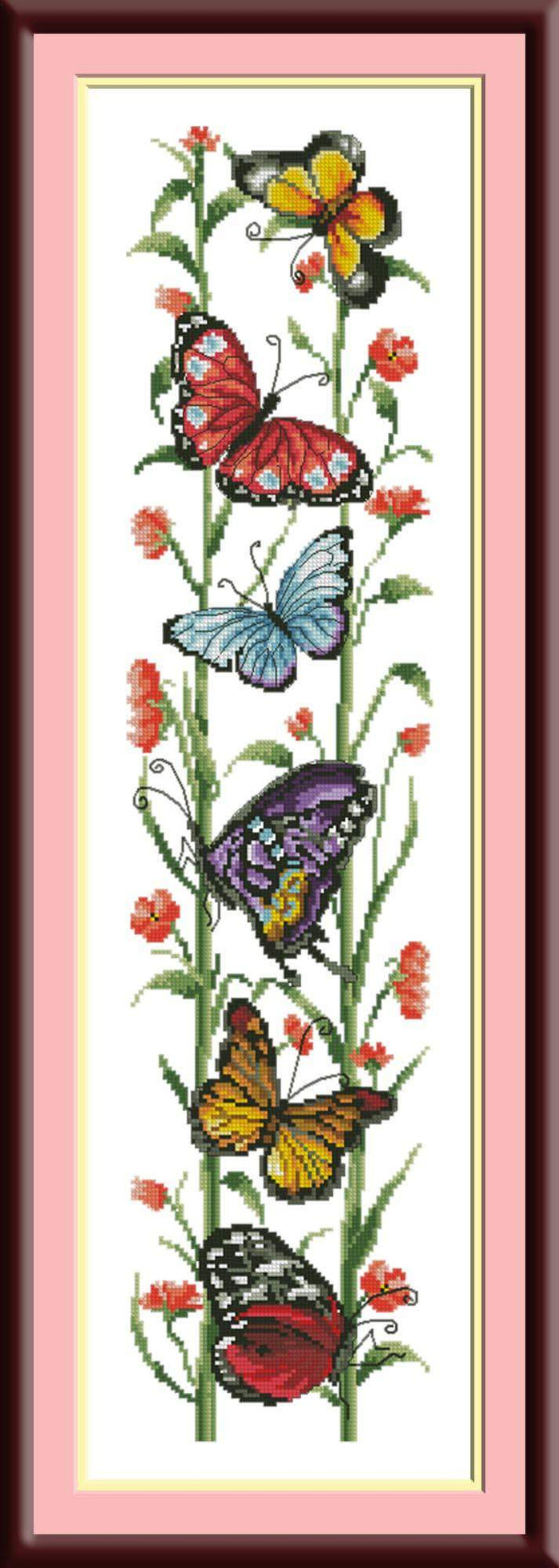 Jual Paket Kristik Cross Stitch Butterfly Kupu Kupu 02 Jakarta Barat KoleksiMeriah