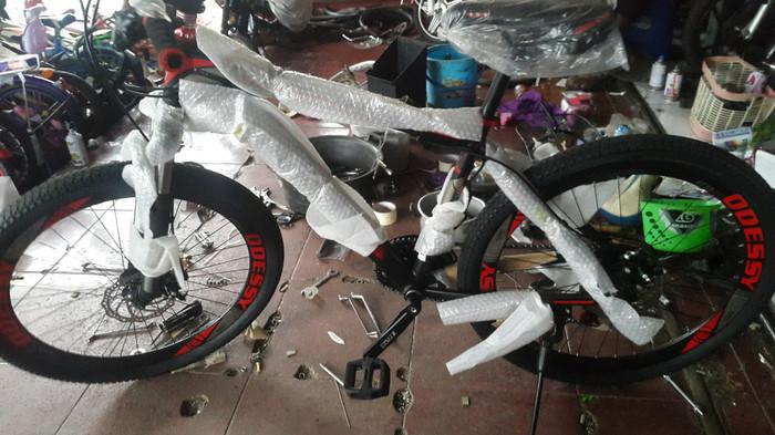 harga Promo sepeda gunung mtb 26 odessy alloy velg tinggi full specz Tokopedia.com