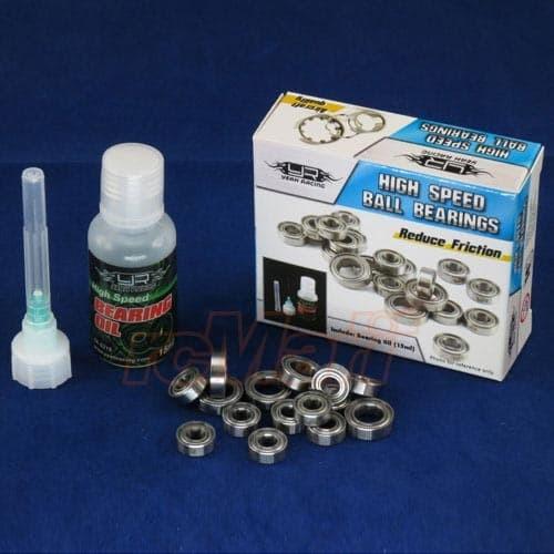 harga Yeah racing rc cars ball bearing set w/oil for yokomo yd-2 1:10 drift Tokopedia.com