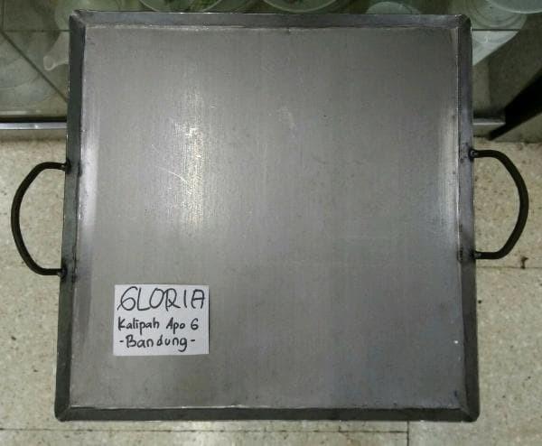 harga Pembakaran panggangan plat 35x35cm tebal 1.5mm untuk roti sosis Tokopedia.com
