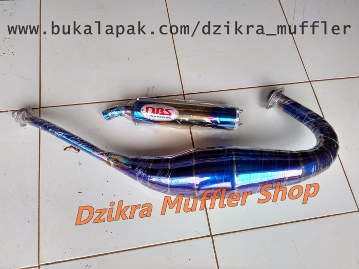 harga Knalpot dbs blue moon stainless for kawasaki ninja 150 r / rr / ss Tokopedia.com
