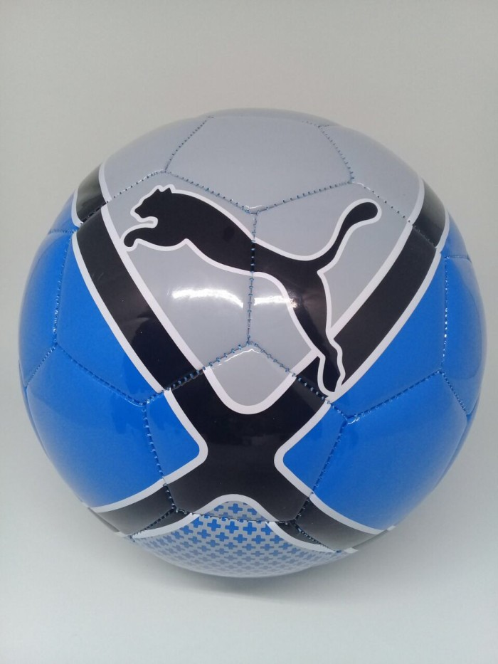 harga Bola futsal puma original evosala aw17 grey/blue new 2018 Tokopedia.com