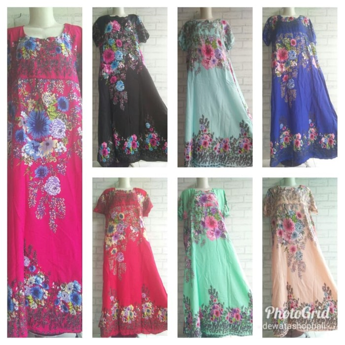 harga Long dress new sakura Tokopedia.com