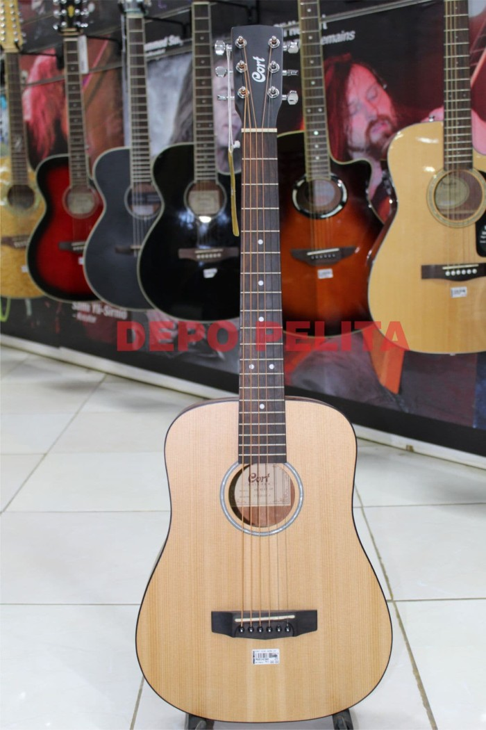 harga Gitar cort ad-mini-open pore (natural) Tokopedia.com