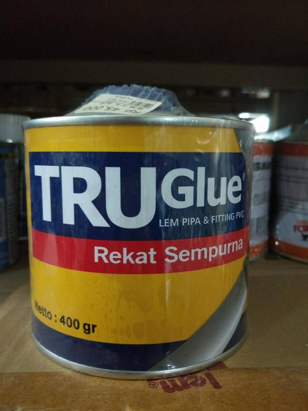 harga Lem trueglue kaleng / lem pipa true glue Tokopedia.com
