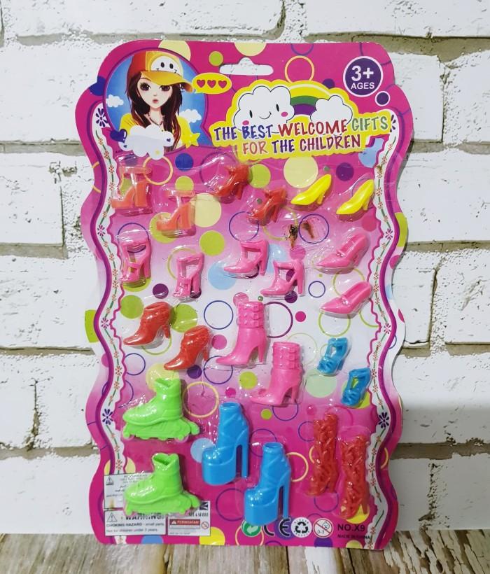 harga Sepatu barbie/ aksesoris barbie/ mainan anak perempuan/ boneka barbie Tokopedia.com