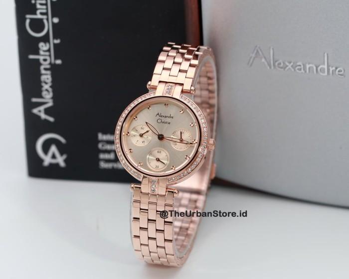 Foto Produk jam tangan alexandre christie 2690 wanita - rosegold dari the urban store