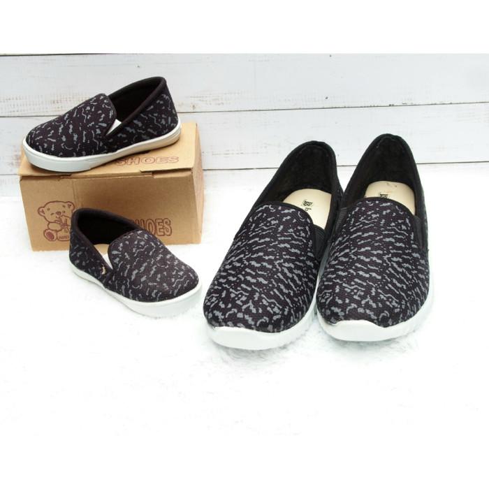 harga Sepatu couple ibu dan anak kanvas suede Tokopedia.com