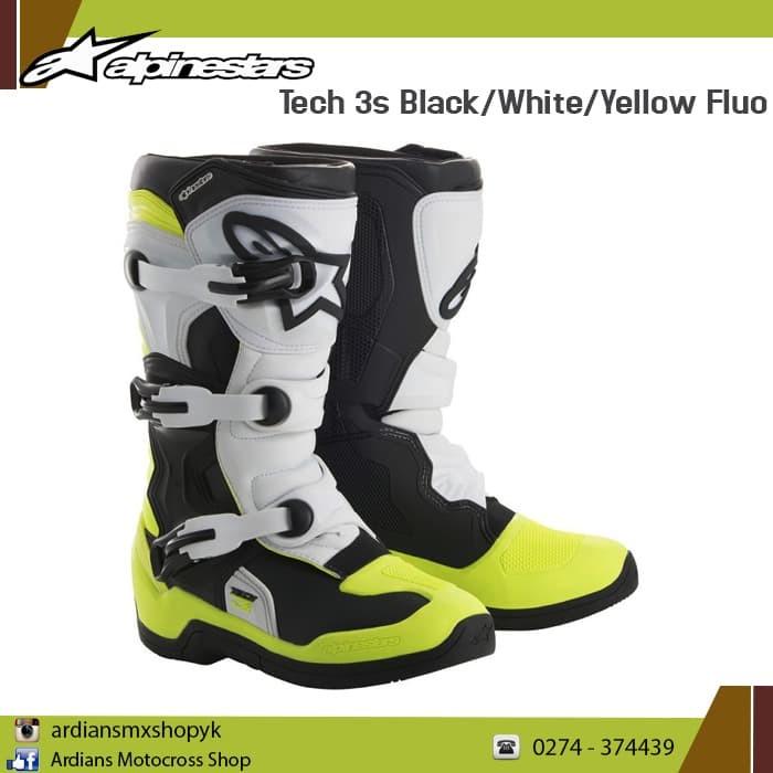 harga Sepatu alpinestars tech 3s anak cross grasstrack Tokopedia.com