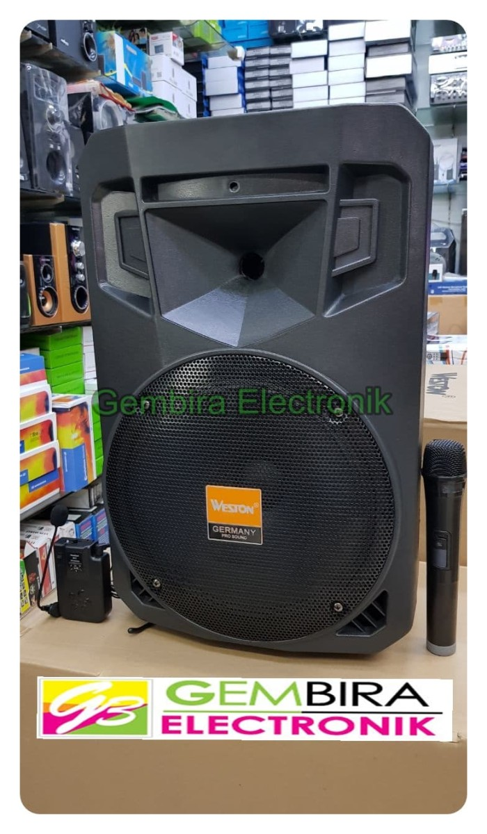 harga Speaker portable meeting wireles 12 inchi weston was1201a Tokopedia.com