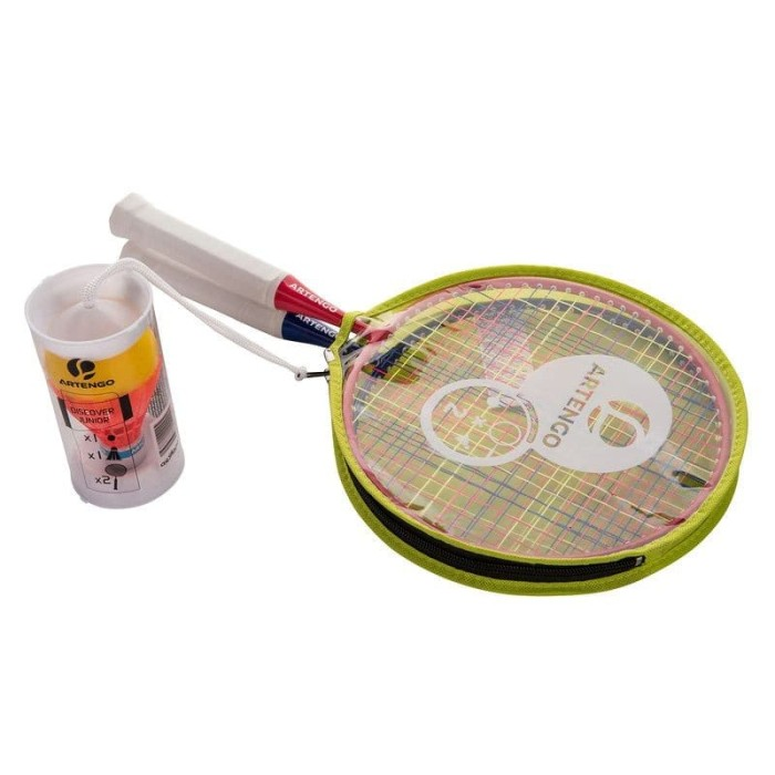 Artengo 1 Set Raket Badminton Anak / Bulutangkis 100% Ori  - Blanja.com
