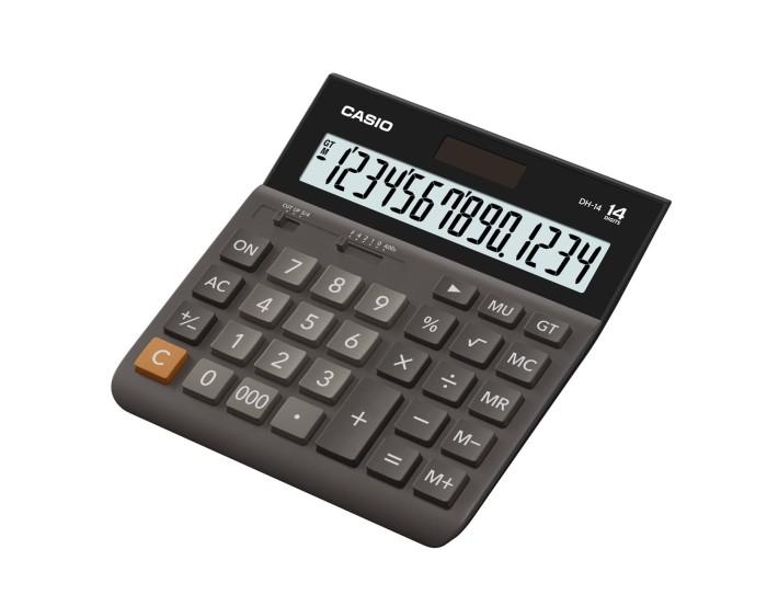 harga Casio wide h series calculator dh-14 black Tokopedia.com