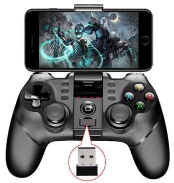 harga Ipega gamepad pg-9076 2.4g wireless & bluetooth joystick hp handphone Tokopedia.com