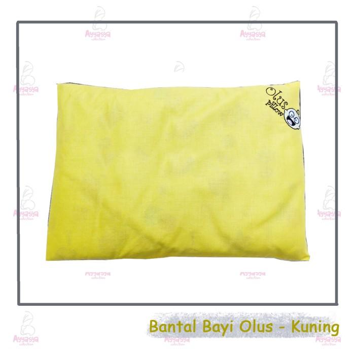 ... Bantal anti Peyang isi kulit kacang hijau OLUS kuning