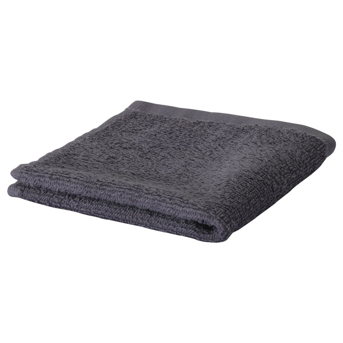 Ikea hurven handuk mandi, abu-abu ukuran 70x140 cm