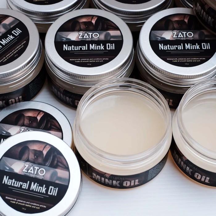 Foto Produk Zato Natural Mink Oil | Leather tool | leather tools dari ZATO INDONESIA