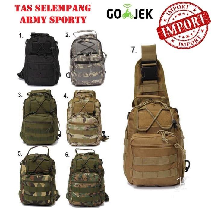 ... harga Tas slempang selempang army cowok pria tactical import  Tokopedia.com a9258ff333