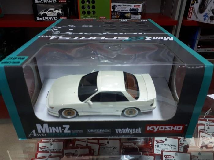 harga Kyosho mini-z awd sports nissan silvia s13 white 32134pw Tokopedia.com