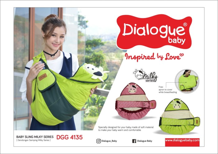 harga Dialogue baby gendongan samping milky series-dgg4135 Tokopedia.com