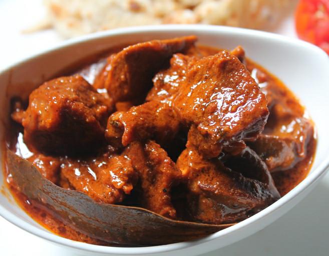 Hasil gambar untuk rogan josh masakan india