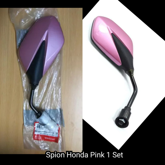 harga Kaca spion honda vario cw techno 110 supra x 125 pink kanan kiri ori Tokopedia.com